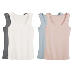 ESMARA® PURE COLLECTION 2 Damen Tanktops